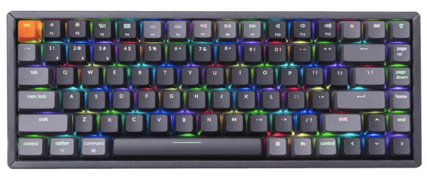 Keychron k2 keyboard Gateron brown switch