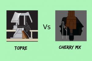 Topre vs cherry mx